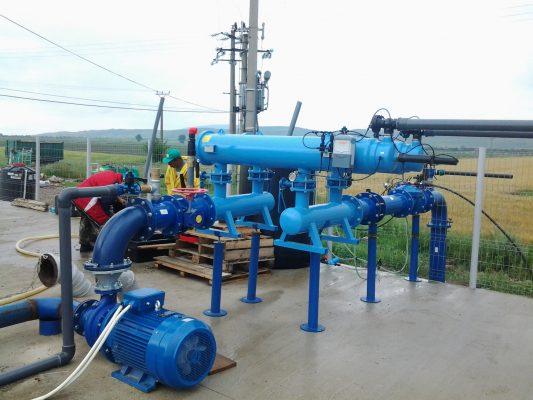 Cơ khí thủy lợi - Máy bơm tưới tiêu